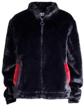 Fila Arianna Faux-Fur Jacket