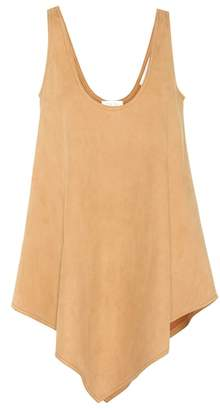 Stella McCartney Aria faux suede top
