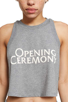 Opening Ceremony Cropped Logo Tank