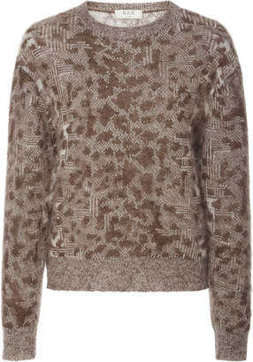Sea Leo Mohair And Wool Blend Sweater