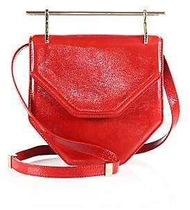 M2Malletier Women's Amor Fati Patent Leather Shoulder Bag
