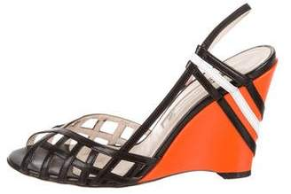 Y-3 Slingback Wedge Sandals