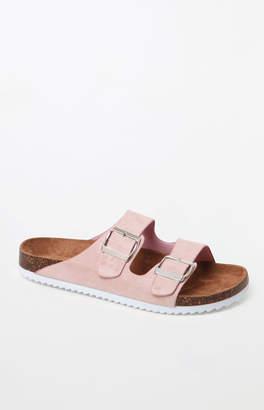 Kirra Two Strap Buckle Slide Sandals