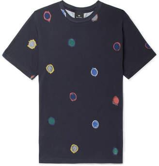Paul Smith Printed Organic Cotton-Jersey T-Shirt