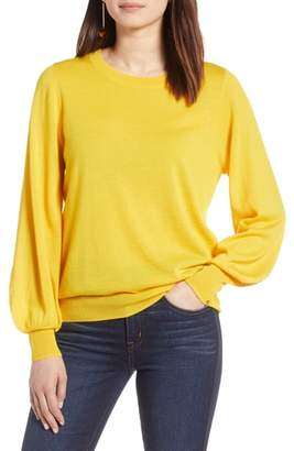 Halogen Puff Sleeve Sweater