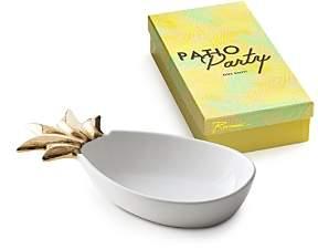Patio Party Small Porcelain Pineapple Serve Bowl