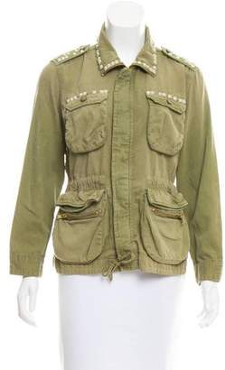 Current/Elliott The Long Solider Utility Jacket w/ Tags