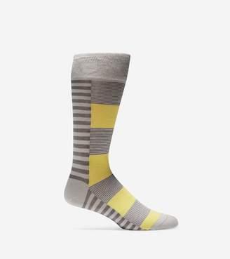 Cole Haan Side Split Stripe Crew Socks