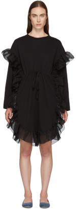 See by Chloe Black Ruffle Dress