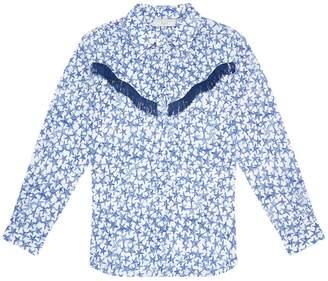 Stella McCartney Star Print Fringe Shirt