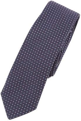 Christian Dior Navy Silk Ties