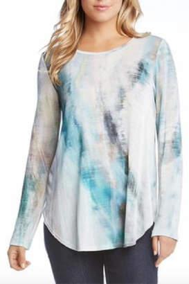 Karen Kane Shirttail Tee Pullover