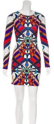 Mara Hoffman Long Sleeve Mini Dress