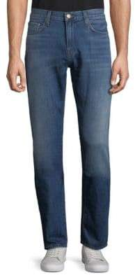 J Brand Slim Faded Cotton Jeans