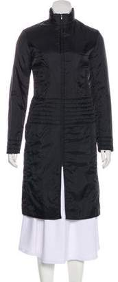 Plein Sud Jeans Long Zip-Up Coat