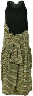 Enfold shirt style dress