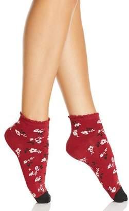 Kate Spade Camellia Anklet Socks