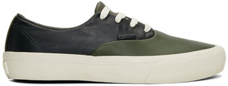 Vans Green Authentic ST LX Sneakers