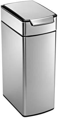 Luxury Simplehuman Rectangular touch Bar Trash Can