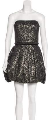 Rachel Zoe Strapless Mini Dress