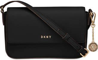 DKNY Saffiano Leather Bryant Flap Crossbody 268f3a79c813f