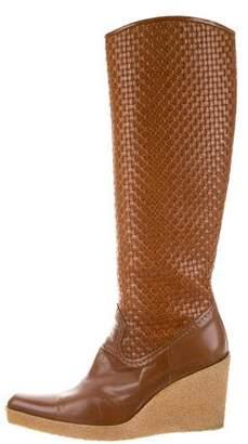 Stuart Weitzman Wedge Knee-High Boots