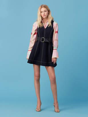Diane von Furstenberg D-Ring Fit and Flare Dress