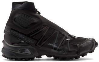 Salomon Black Snowcross ADV LTD High-Top Sneakers