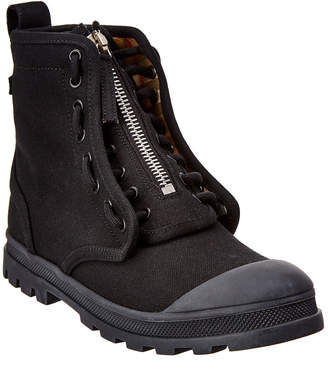 Burberry Leather Military Boot