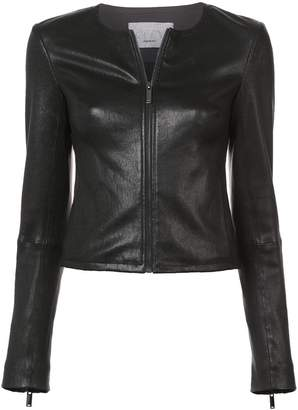 Jason Wu GREY zipped biker jacket