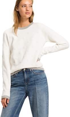 Tommy Hilfiger Textured Dot Sweater