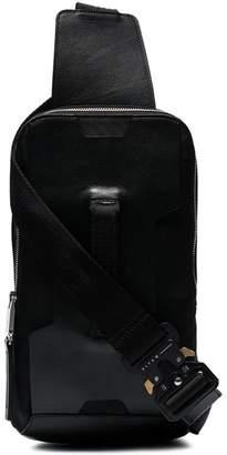 Alyx black handle leather cross body bag