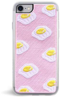 Zero Gravity Fried Embroidered Pink iPhone 7 Case
