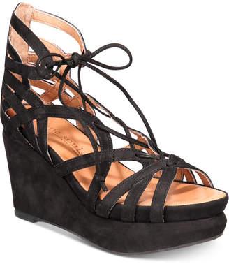 Gentle Souls by Kenneth Cole Women's Joy Platform Wedge Sandals Women's Shoes