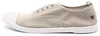 Walnut Melbourne New Euro Plimsole Sand Womens Shoes Comfort Sneakers Casual