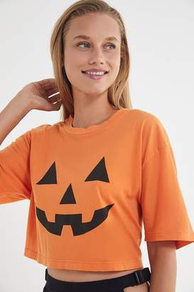 Truly Madly Deeply Pumpkin Cropped Tee