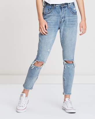One Teaspoon High Waist Skinny Jeans