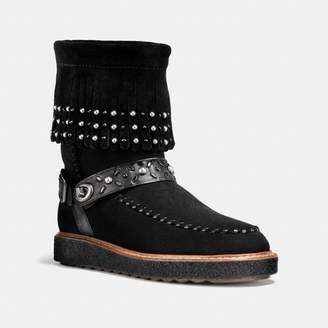 Coach Roccasin Shearling Boot