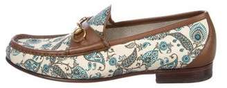 Gucci 1953 Paisley Horsebit Loafers
