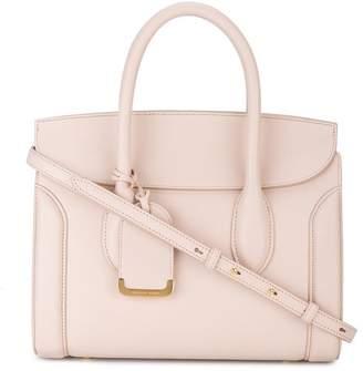 Alexander McQueen pink Heroine leather tote bag