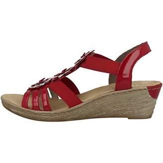 d1153535a63 Rieker Women s s 62461-34 Closed Toe Sandals
