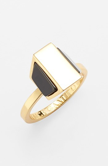 Vince Camuto 'Love Stoned' Geometric Ring