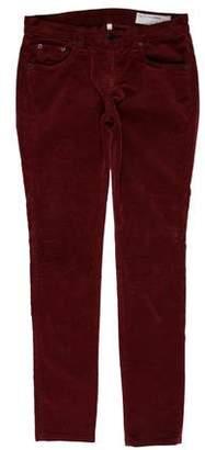 Rag & Bone Mid-Rise Corduroy Pants