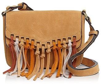 Rebecca Minkoff Rapture Multi-Tassel Small Suede Shoulder Bag $195 thestylecure.com