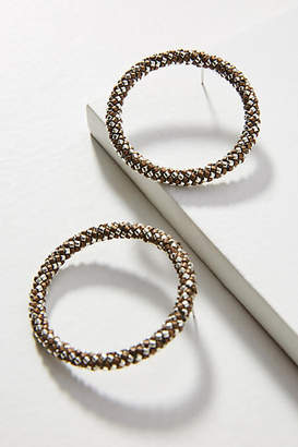 Mishky Petite Hula Hoop Post Earrings
