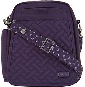Lug RFID Convertible Crossbody Bag w/ BonusStrap - Flapper