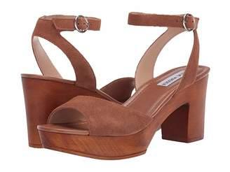 76abdbca3454 Steve Madden Brown Chunky Heel Women s Sandals - ShopStyle