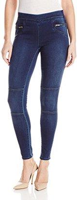 Calvin Klein Jeans Women's Knitigo Moto Legging $79.50 thestylecure.com