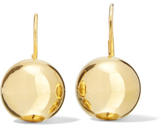 Sophie Buhai - 18-karat Gold Vermeil Earrings - one size $475 thestylecure.com