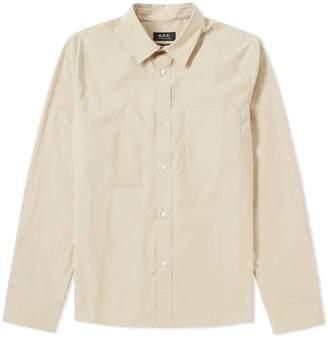 A.P.C. Nico Poplin Shirt
